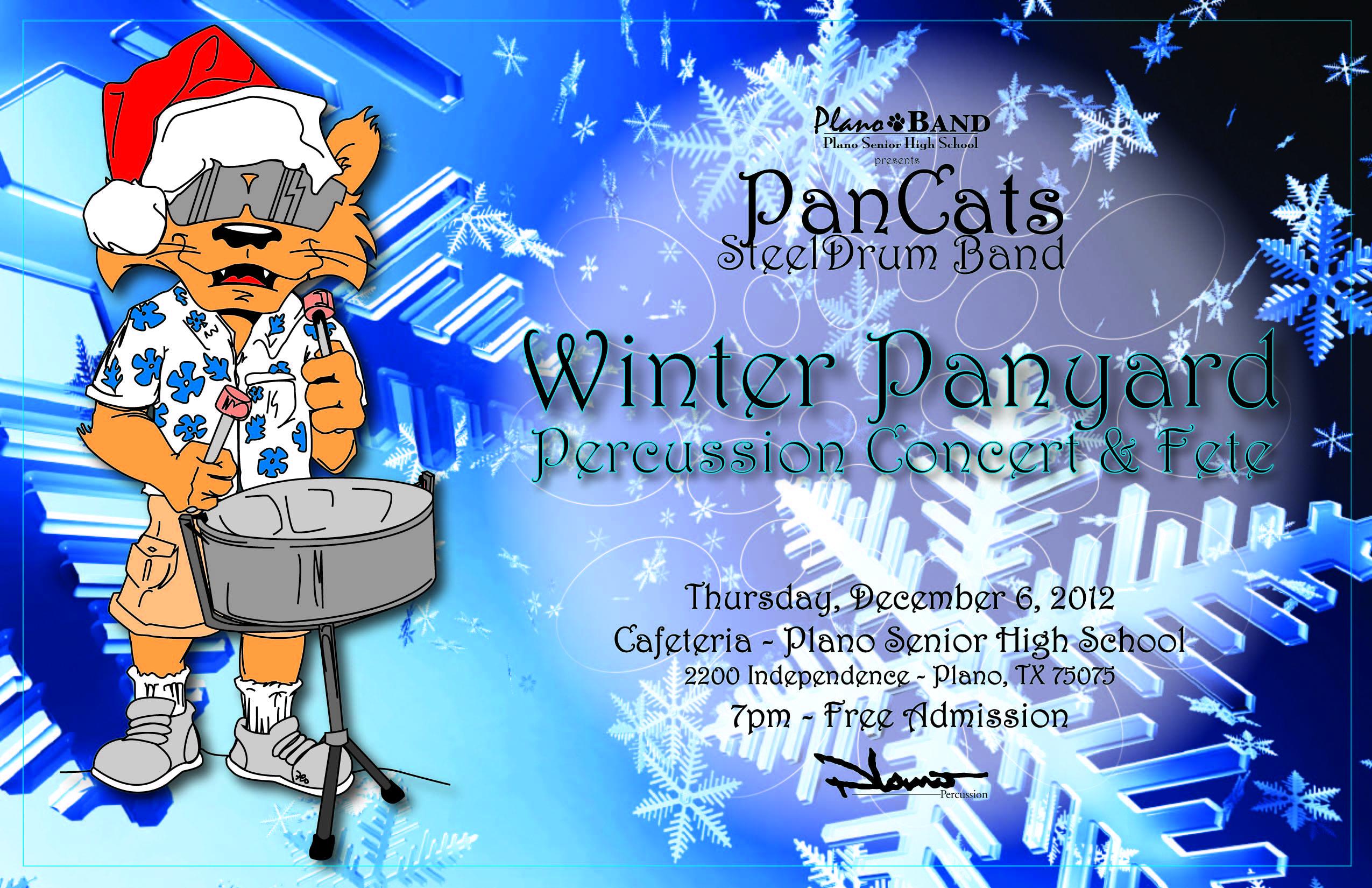 Plano Percussion School Year Events